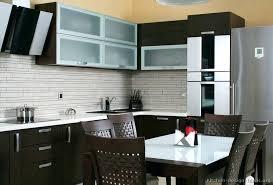 Modern Kitchen Backsplash Dark Cabinets  Freerollokinfo