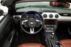 2015 ford mustang interior. 2015 ford mustang revealed interior