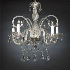 authentic all crystal chandelier chandeliers h25 x w24