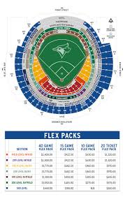 Seating Plan Rogers Centre 2016 Legend Rogers Centre