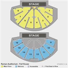 Ryman Seating Chart Balcony Ryman Auditorium Seat Map Ryman Seating Chart Main Floor