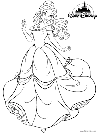 Small Picture 14 Wall Disney Princess Coloring Pages Printable