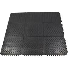durable anti fatigue interlocking commercial solid 37 in x 37 in rubber floor