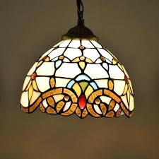 tiffany pendant light pendant lamp creative art dragonfly multi color stained glass shade restaurant suspension lamp hotel tiffany pendant light