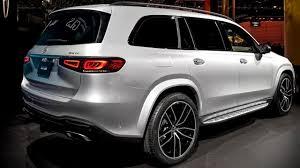 (554)кожа наппа двухцветная amg exclusive коричневый трюфель / чёрная. Mercedes Gls 580 Amg Line 2020 In Beautiful Details Youtube