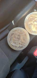 Im in calgary and no matter what tim hortons i go to its always chilli or chicken noodle now for months. New Iced Coffee Lids Timhortons