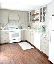 kitchens with white cabinets and white appliances. Interesting White Amazing Painted Kitchen Cabinets With White Appliances And Popular Interior  Design Garden To Kitchens S