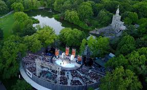Delacorte Theater In Central Park Seating Chart Free Shakespeare In The Park