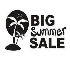 Summer Sale Logo Vector Icon Illustration Summer Sale Icon Vector