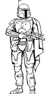 Jango Fett Coloring Pages At Getdrawingscom Free For Personal Use