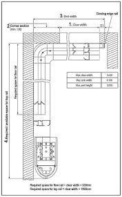 plan view of the vertico garage door