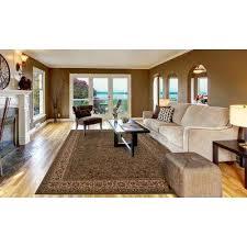 persian classic kashan green rectangle indoor 10