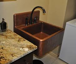 drop in bathroom sinks oval copper vessel bathroom sinks copper bathroom sinks