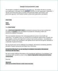 New Business Announcement Template How To Write A Business