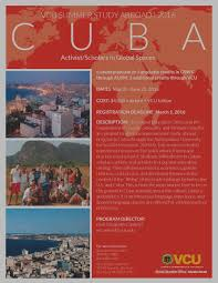study abroad virginia commonwealth university  activist scholars in global spaces flier
