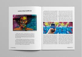 Indesign Magazine 10 Best Art Magazine Templates Photoshop Psd And Indesign _