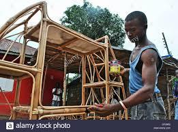 craftsmen furniture. a craftsman makes cane furniture in bo sierra leone craftsmen k