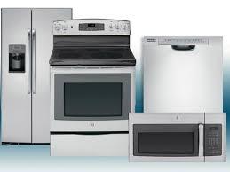 4 Piece Kitchen Appliance Set Kitchen 4 Piece Stainless Steel Kitchen Appliance Package 00008