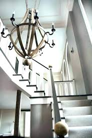 entryway chandeliers modern large foyer for contemporary room rustic home improvement neighbor over the fence