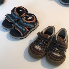 Stride Rite Lot Of 2 Pairs Toddler Size 6m