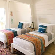 beach bedroom furniture. california retro beach house makeover west elm bedroom furniture 0