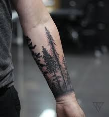 Forest Cuff тату Tatuaż Pomysły Na Tatuaż и Tatuaże