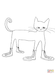Small Picture Coloring Pages Animals Weak Cat Coloring Page Cat Coloring