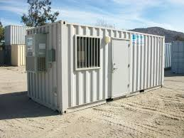office in container. 20\u2032 Ground Level Office In Container N