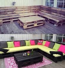 pallet furniture designs. Outdoor-pallet-furniture-woohome-3 Pallet Furniture Designs