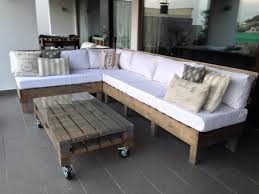 diy pallet seating set for garden deck build pallet furniture