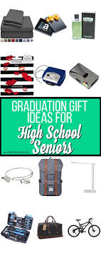 the big list of gift ideas for high seniors
