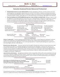 Sample Of Human Resource Resume Free Resumes Tips Samples Functio