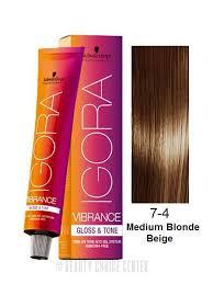 Schwarzkopf Igora Vibrance Gloss Tone Hair Color 7 4