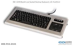 military grade backlit sealed 81 key desktop keyboard with hulapoint