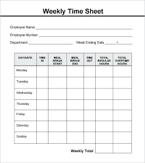 Free Printable Timesheets For Employees Enchanting Printable Weekly Employee Time Sheet Sheets To Print Times Table