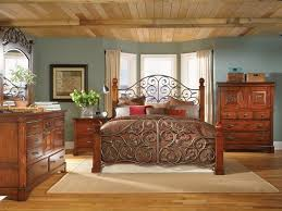 Modest Creative Solid Wood Bedroom Furniture Solid Oak Bedroom