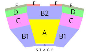 La Live Seating Chart Seating Charts Musical Org
