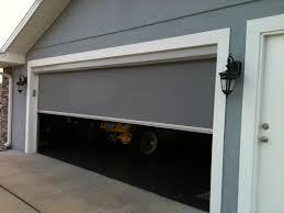 screened in garage doorRetractable Solar Screens  Patio Shades Houston