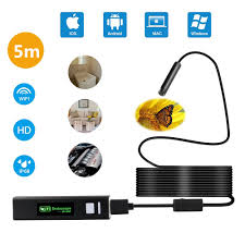 This camera is not good for ear or mouth inspection. Iphone Endoscope Endoscope Camera Wireless With Wifi Borescope Inspection Camera 2 0 Megapixels Hd Snake Camera For Iphone Ios Android Smartphone And Ipad 5m 16 4ft Cable Walmart Com Walmart Com