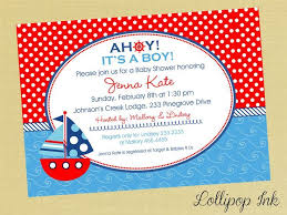 Birthday Invitation Design Templates Best Baby Shower Invitations Templates Elegant Nautical Invite Template