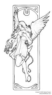 colorangelcompassion free art extras selina fenech enchanting hearts with fantasy on selina fenech free coloring pages