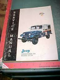 american vehicles books manuals automobilia transportation 1969 kaiser jeep dispatcher 100 dj 5a rhd post office service manual good