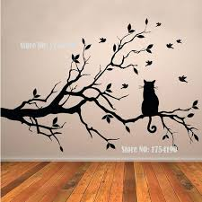 tree branch wall art tree vinyl wall decal glass window stickers home decoration wall art