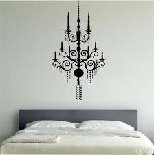 chandelier wall decal vinyl sticker art decor bedroom design