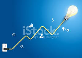 Modern Charts And Graphs Vector Creative Light Bulb Charts And Graphs Modern Design