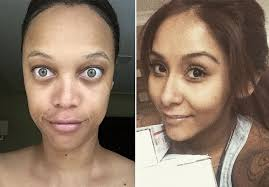 reality tv stars makeup free