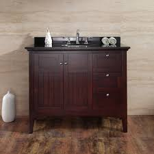 42 Bathroom Vanity Ove Decors Gavin 42 Single Bathroom Vanity Set Reviews Wayfair