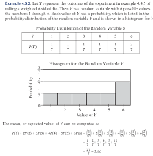 Finding Mean From Die Probability Mathematics Stack Exchange