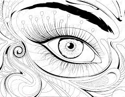 Small Picture Eye coloring pages