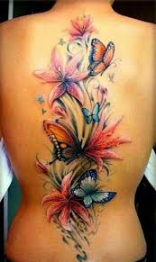 Butterfly Tattoos On Back - Tattoo Image Collection